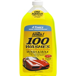 Formula 1 Car Shampoo Concentrate 100 Wash & Wax - 28oz