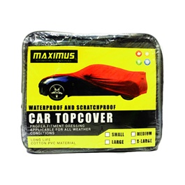 Maximus Medium Non Woven Scratchproof Waterproof Car Top Cover -SehgalMotors.Pk