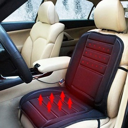 12V Car Heated Seat Cushion Cover | Heating Seat | Car Heater-SehgalMotors.Pk