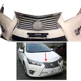 Toyota Corolla Lexus Style Front Bumper Painted - Model 2014-2017-SehgalMotors.Pk