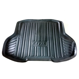 Honda Civic 5D Trunk Mat - Model 2011-2013 | Trunk Boot Liner | Cargo Mat Floor Tray | Trunk Protection Mat | Trunk Tray Cover Pad-SehgalMotors.Pk