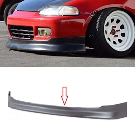 Honda Civic CS Style Unpainted Front Bumper Lip  Model  1995 - 1998-SehgalMotors.Pk