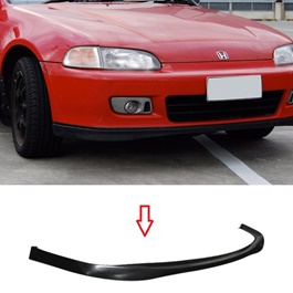 Honda Civic EG Front Bumper Lip in Plastic - Model 1995-1996-SehgalMotors.Pk