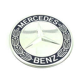 Mercedes Wheel Cap Logo - 4 pieces-SehgalMotors.Pk
