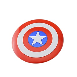Captain America Wheel Cap Logo - 4 pieces-SehgalMotors.Pk