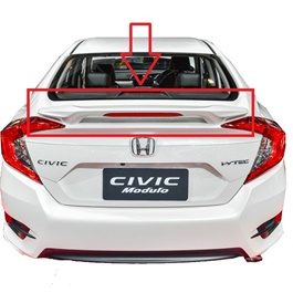 Honda Civic Modulo LED Spoiler - Model 2016-2020-SehgalMotors.Pk