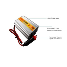 Car DC to AC Power Inverter Converter 200w-SehgalMotors.Pk
