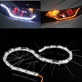 Crystal LED DRL Flexible Light-SehgalMotors.Pk