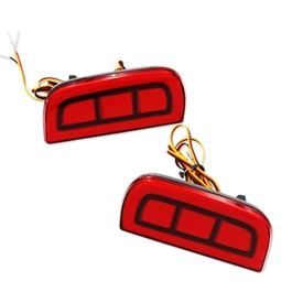 Honda Civic Rear Bumper Reflector Brake Lamp Design A - Model 2016-2017-SehgalMotors.Pk