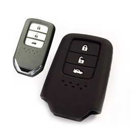 Honda Civic PVC / Silicone Protection Key Cover 3 Button - Model 2016-2020