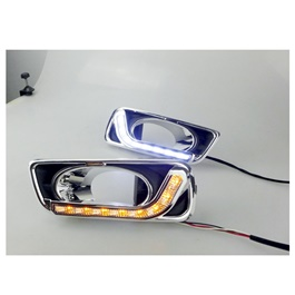 Honda City Maximus DRL Fog Lamp Cover - Model 2015-2017-SehgalMotors.Pk
