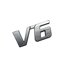 V6 Metal Monogram – Multi-SehgalMotors.Pk