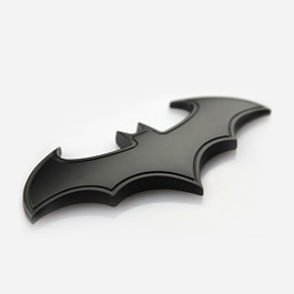 Batman Logo Black with Side Line