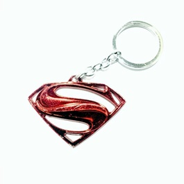 Super Man Key Chain / Key Ring Red-SehgalMotors.Pk