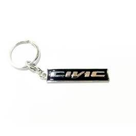 Honda Civic Black Key Chain / Key Ring-SehgalMotors.Pk