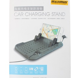 Car Charger with PVC Mat-SehgalMotors.Pk
