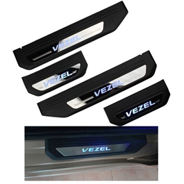 Honda Vezel LED Sill Plates - Model 2016-SehgalMotors.Pk