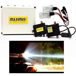 Maximus 200w HID with 6000+ Lumens For Head Lights | Headlamps | Car Front Light | Car Brightest Light-SehgalMotors.Pk