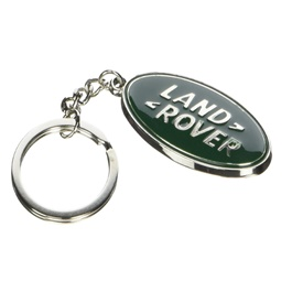 Land Rover Green Metal Key Chain-SehgalMotors.Pk