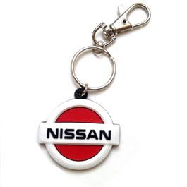 Nissan Red Metal Key Chain / Key Ring-SehgalMotors.Pk