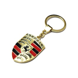 Porsche Metal Key Chain / Key Ring-SehgalMotors.Pk