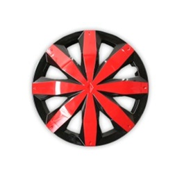 Glossy Red Wheel Cups / Wheel Covers - 12 inches-SehgalMotors.Pk