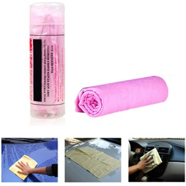 Chamois Cleaner Cloth - Multi | Super Absorbent Microfiber Synthetic Chamois Clean Towel-SehgalMotors.Pk