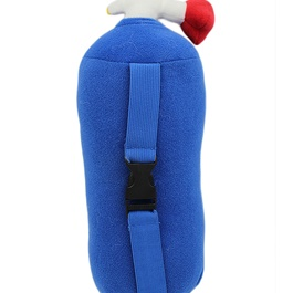 NOS Nitrous Oxide Bottle Pillow Car Decor Backrest Cushion Creative Plush Pillow Small-SehgalMotors.Pk