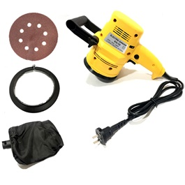 KTM Polishing Buffer Heavy Duty For Detailing | Electric Polisher Sander | Paint Care Tool Car Polishing Machine Buffer Waxer For Vehicle-SehgalMotors.Pk