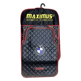 BMW Floor Mat Red and Black-SehgalMotors.Pk