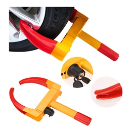 Car Security Anti Theft Wheel Tire / Tyre Clamp Lock -SehgalMotors.Pk