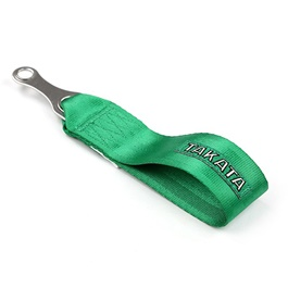 Takata Strap Tow Hook - Green