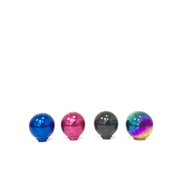 Mugen Round Gear Shift Knob For Auto  FD2 Multi Color-SehgalMotors.Pk