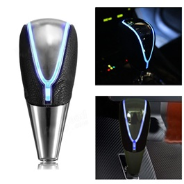LED Touch Activated Gear Shift Knob For Auto  Blue-SehgalMotors.Pk