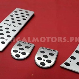 Pedal Covers Honda Civic Reborn 2010 Manual-SehgalMotors.Pk