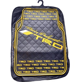 TRD Racing Yellow Floor Mat-SehgalMotors.Pk