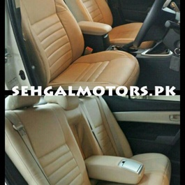 Japanese Leather Type Rexine Seat Covers For Corolla -SehgalMotors.Pk