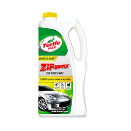 Turtle Zip Wax Shampoo - 1L | Car Shampoo | Car Cleaning Agent | Car Care Product | Glossy Touch Shampoo | Mirror Like Shine-SehgalMotors.Pk