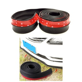 3M Adhesive Rubber Lip - Black-SehgalMotors.Pk