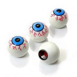 Eye Ball Tire Valve Caps-SehgalMotors.Pk