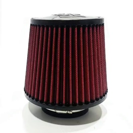 Racing Cold Air Intake Filter | Universal Car Air Filter Vehicle Induction High Power Mesh | Auto Cold Air Hood Intake-SehgalMotors.Pk