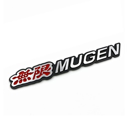MUGEN Monogram Red And Chrome-SehgalMotors.Pk