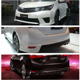 Toyota Corolla Body Kit / Bodykit 7 Pieces - Model 2014-2017-SehgalMotors.Pk