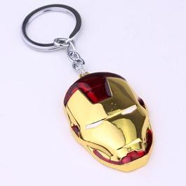 Ironman Metal Key Chain / Key Ring-SehgalMotors.Pk