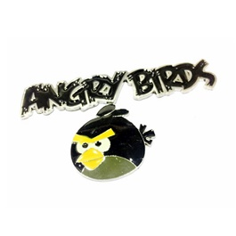 Angry Birds Metal Mono Black-SehgalMotors.Pk