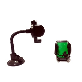 Mobile Holder Long Stick with Glass-SehgalMotors.Pk