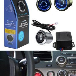 Car Universal Pivot Engine Push Start Button-SehgalMotors.Pk