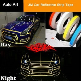 3M Reflective Luminous Tape White-SehgalMotors.Pk