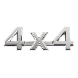 4x4 Chrome Metal Mono White-SehgalMotors.Pk