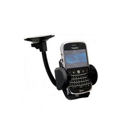 Long Stick Black Mobile Holder-SehgalMotors.Pk